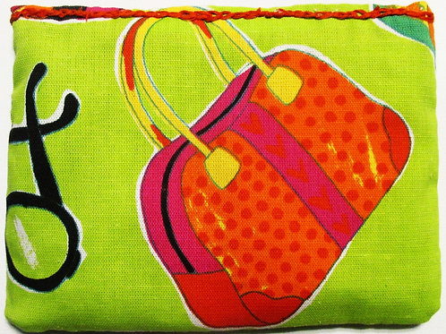 Summer Bag,Summer Pouch, Fabric Bag