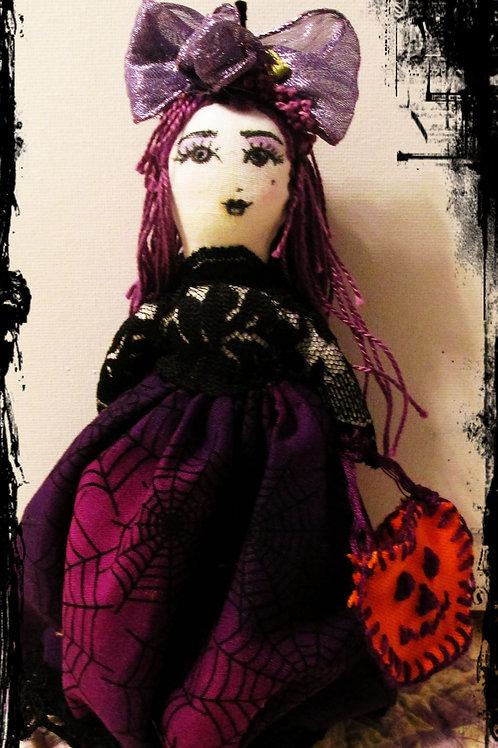Halloween Doll-Wicked Wendy-Handmade Halloween Doll