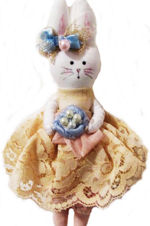 Shabby Chic Easter Bunny- Eggciting Emily