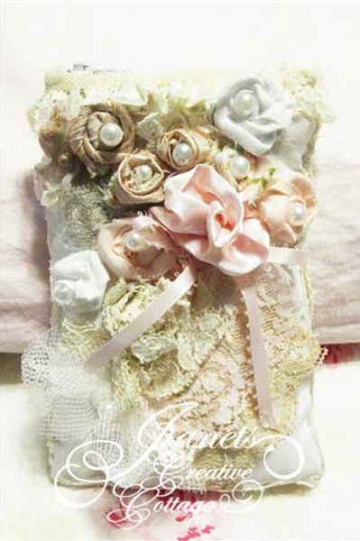 Shabby Chic Roses Cell Phone Cover