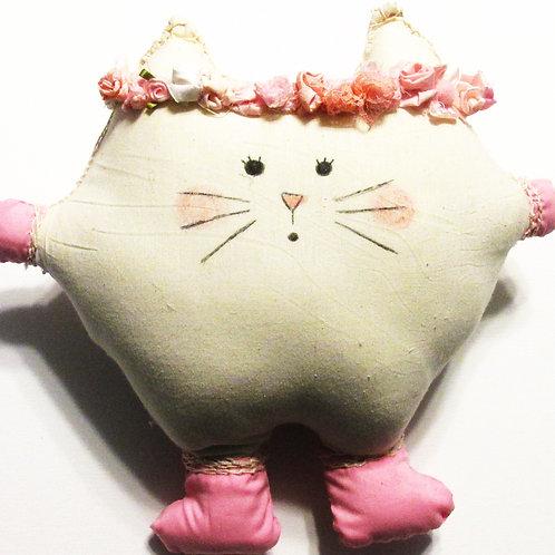 Puffie Cat-Pinky Powder Puff