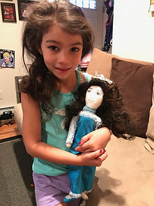 Sophia and Janet's Creative Cottage look a like doll.