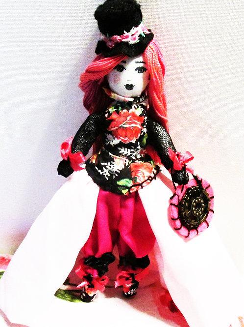 Steampunk Victorian Handmade Doll-Victoria