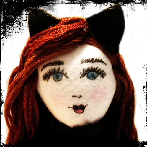 Halloween Doll-Kooky Kitty