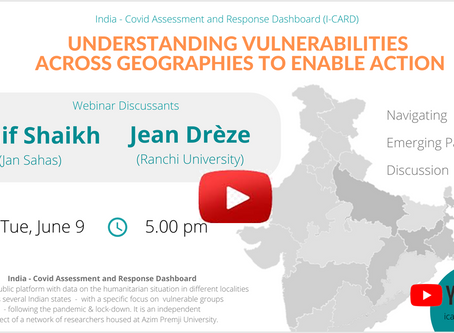 Webinar on Understanding Vulnerabilities Across Geographies to Enable Action