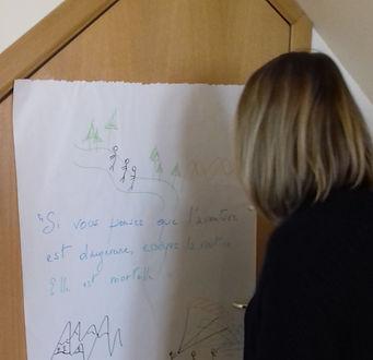 Exercice de développement personnel Les Ateliers du Mieux-Être
