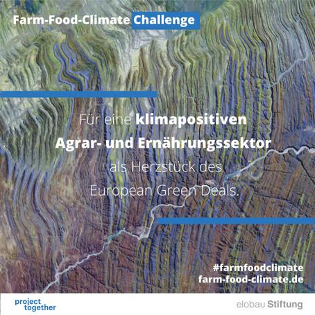 Wir sind Teil der Farm Food Climate Challenge!