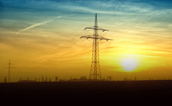 twilight-power-lines-evening-evening-sun-46169 copy