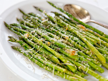 Weekly Recipe - Parmesan Roasted Asparagus