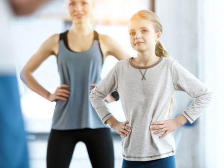 At-Home Exercises to do with Kids