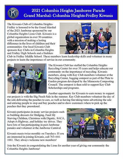 Page 12 ALL- 2021 Jamboree Parade Grand