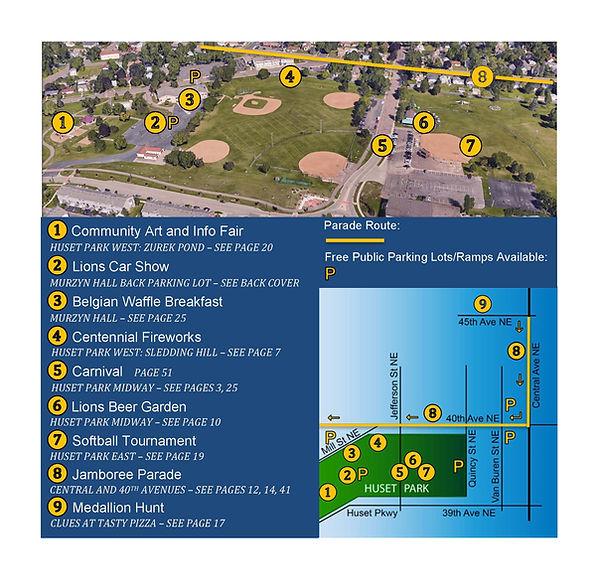 Page 23 ABCEFG - Jamboree Map - 2021 Jam