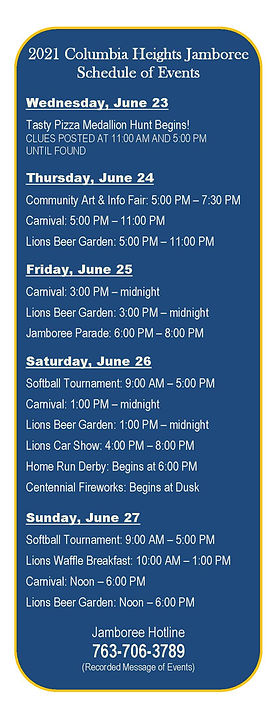 Page 22 EFGH - Jamboree Schedule of Even