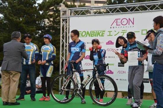 AEON BIKE ENDURO 2015優勝