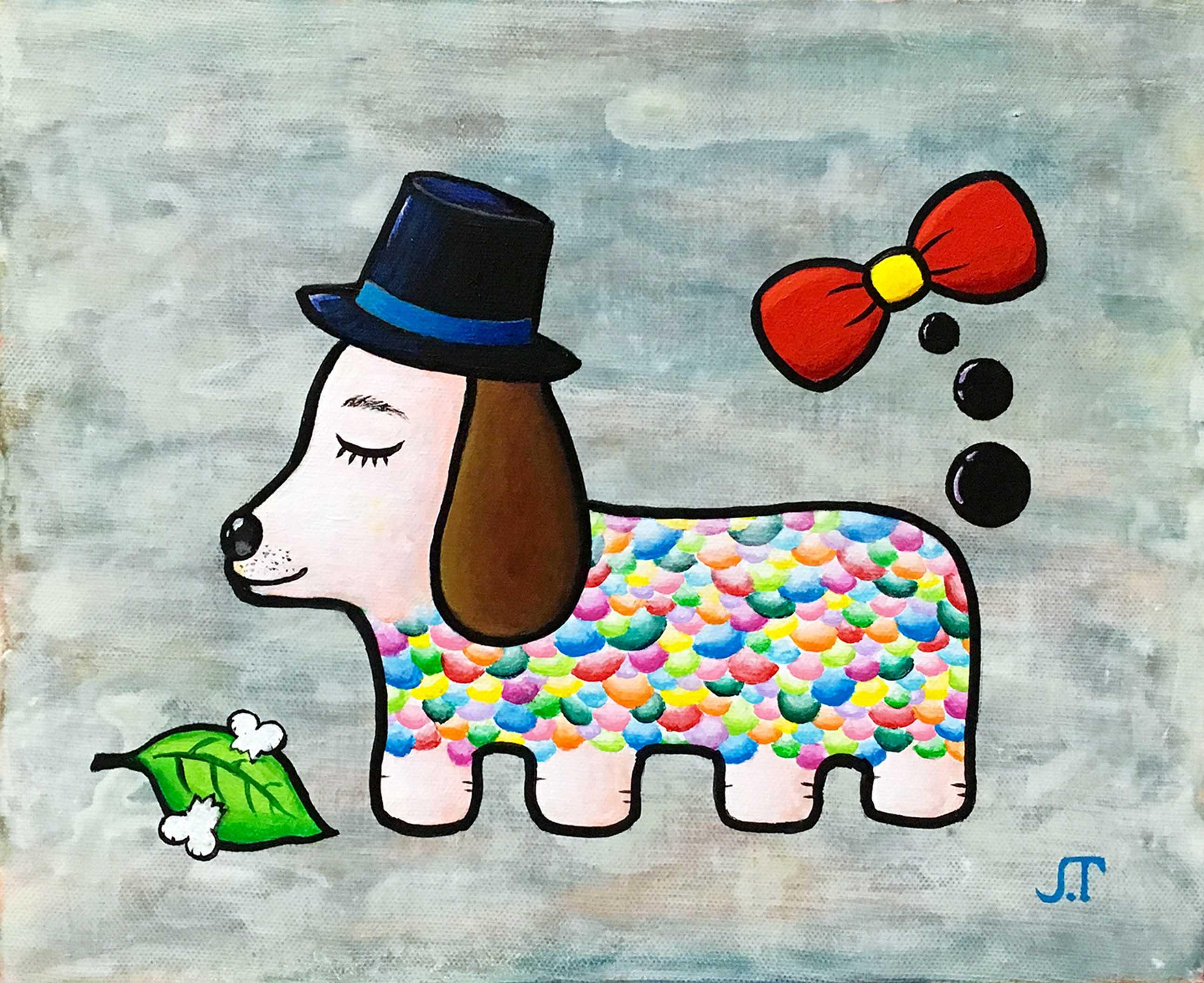 ハット犬(Hat Dog)