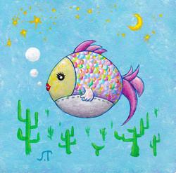 夢つかむ魚(Dream Catcher-Fish)