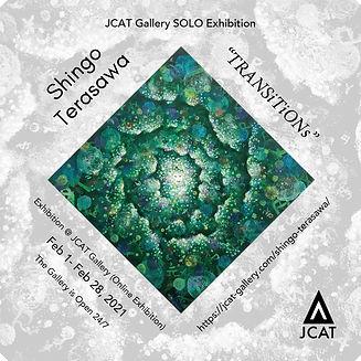 JCAT online 個展 TRANSiTiONs ポスター C2-01.j