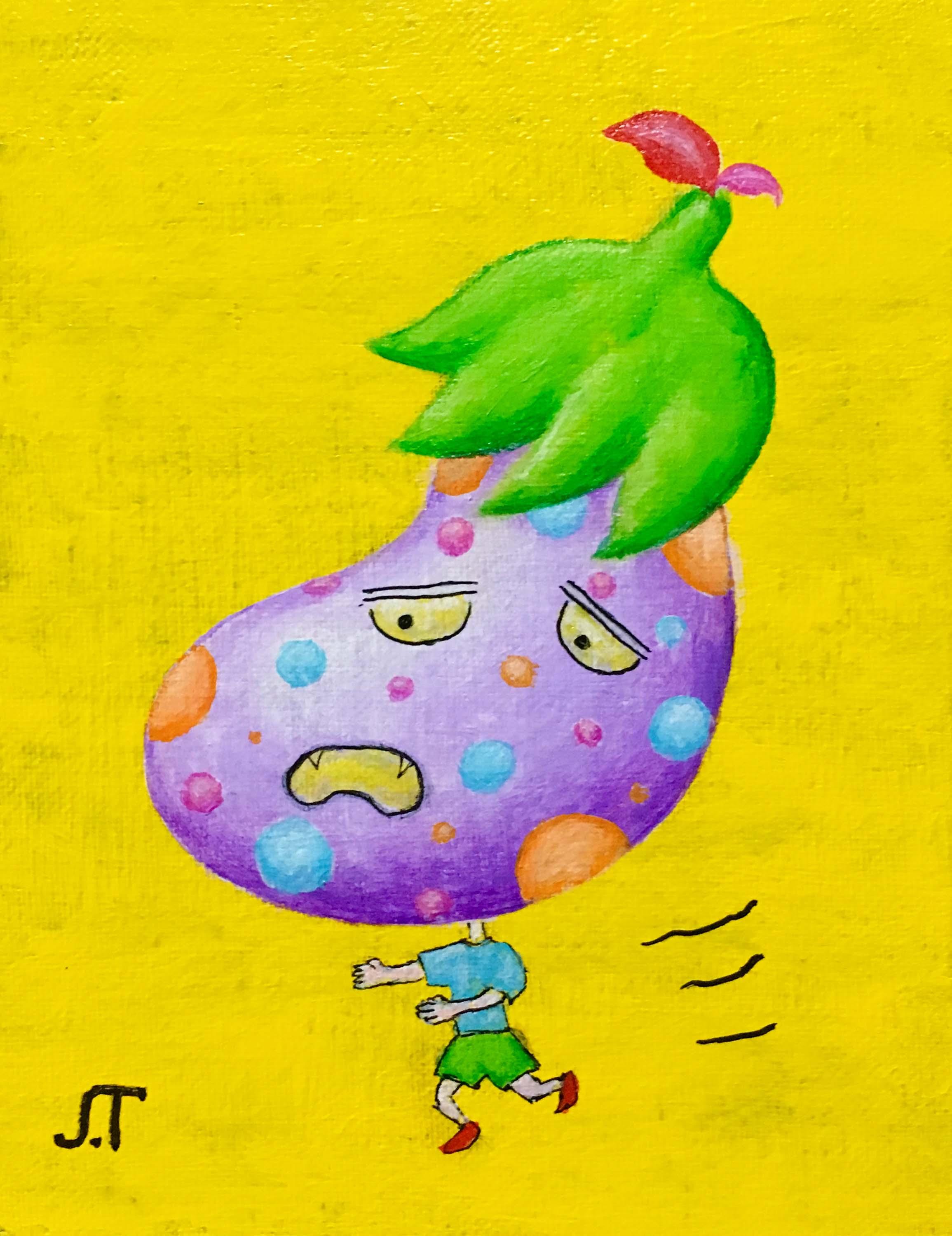 なすボーイ(Eggplant Boy)