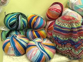 Adriafil Knitcol varigated merino yarn