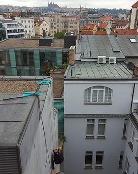 Oprava a údržba omítky v centru Prahy