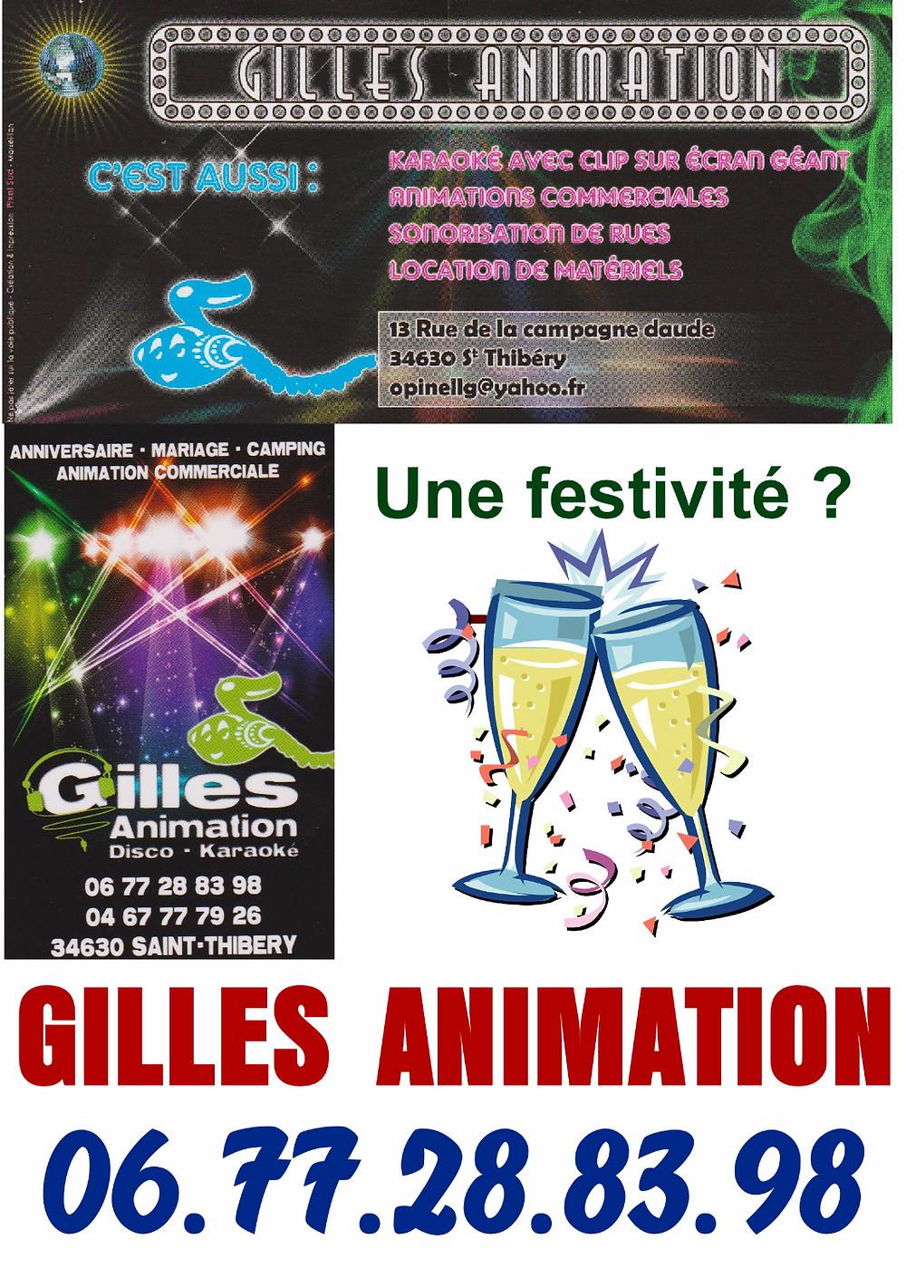 Merci Gilles pour ton soutien ...