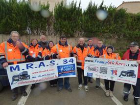 Beaucoup de travail pour le MRAS 34