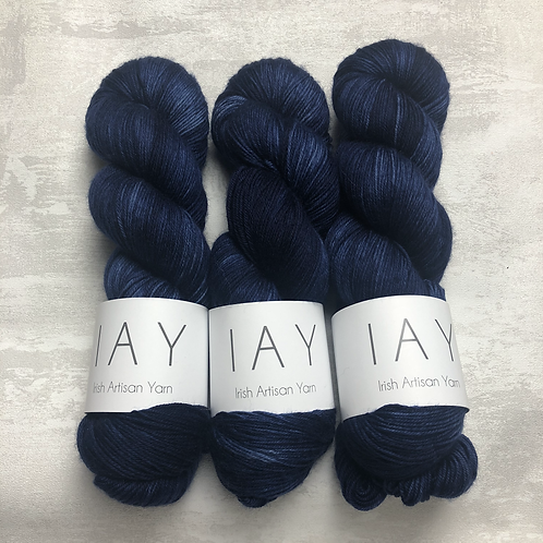 Navy - Superwash Merino