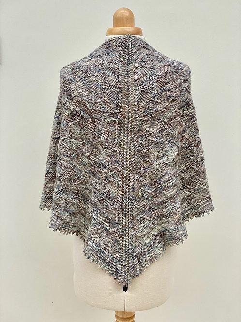 The Wave Drift Shawl - Knitting Pattern