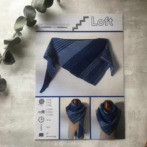 DK - Loft Shawl Crochet Pattern