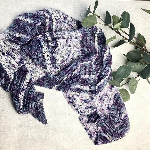 Trailing Wake Shawl Pattern - Crochet