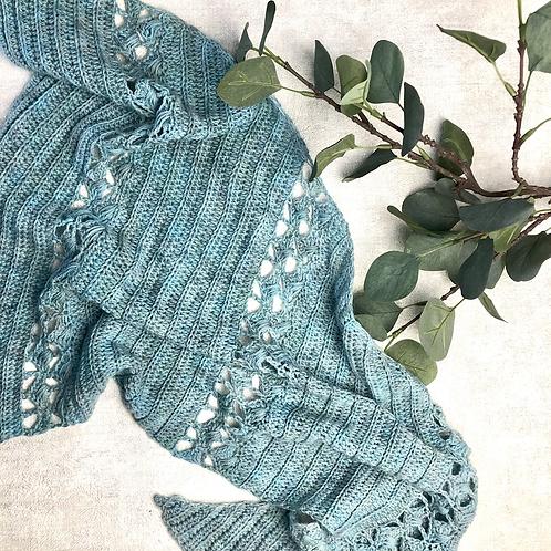 Sea Thistle Shawl Pattern - Crochet