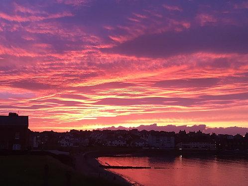 October 2019 Yarn Club - Ballyholme Bay Sunset