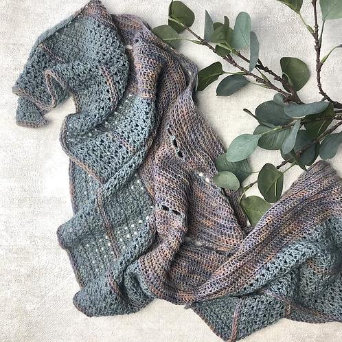 Doris Shawl Pattern - Crochet