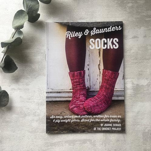 Riley & Saunders Socks Pattern