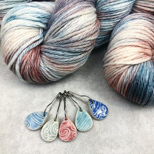 Ceramic Stitch Markers