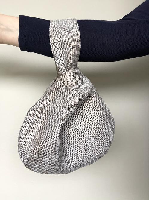 Metallic Linen Project Bag - Small