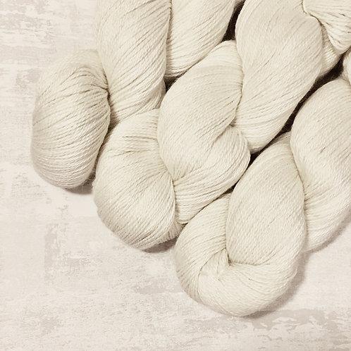 Ecru - Baby Alpaca/Silk 4Ply