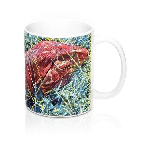 Red Tegu Lizard Mug 11oz, Tegu, Lizard, Argentine Tegu, Tegu World,