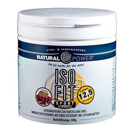 Natural Power Iso Fit Elektolyt