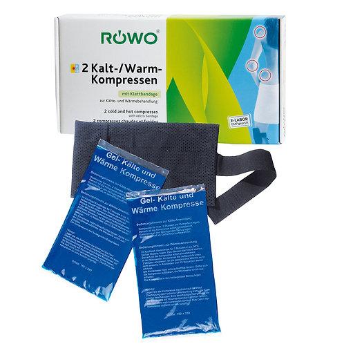 RÖWO 2 Kältekissen / Wärmekissen