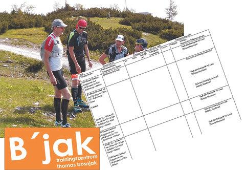 18 Wochen Trainingsplan 10km bis 42km