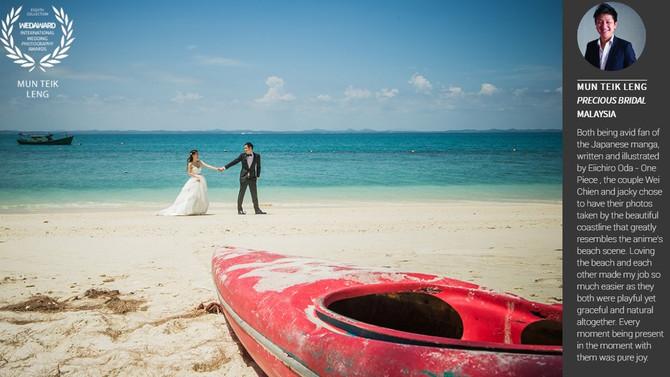 Winner of International Wedding Photography Award | WEDAWARD