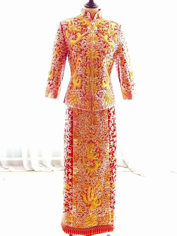 TRADITIONAL CHINESE KUA MALAYSIA WEDDING BRIDAL HOUSE | PRECIOUS WEDDING