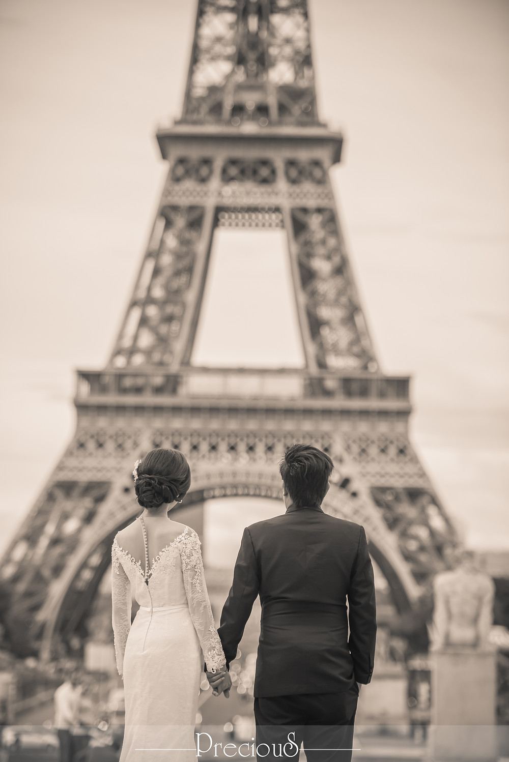 Precious Wedding | Malaysia PreWedding Paris Destination Shoot