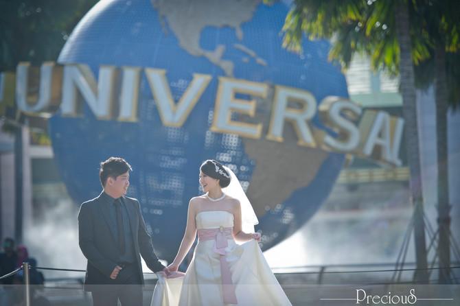 Universal Studio Singapore | Kheng Seong + Pui Yi