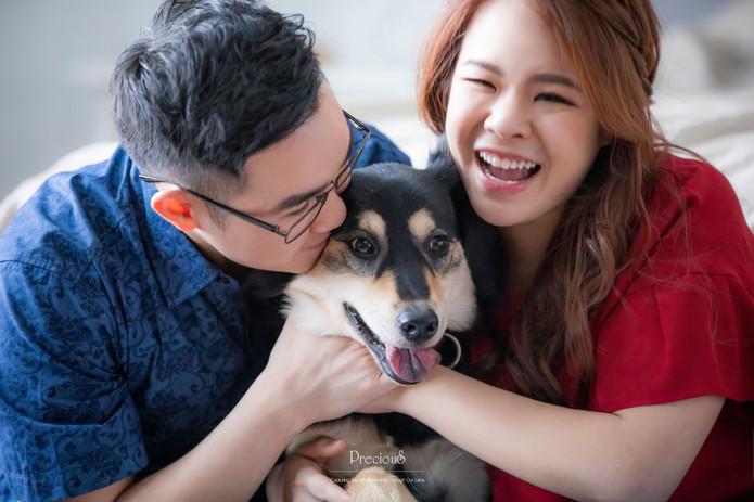 Precious Wedding _ Dog Portrait Photogra