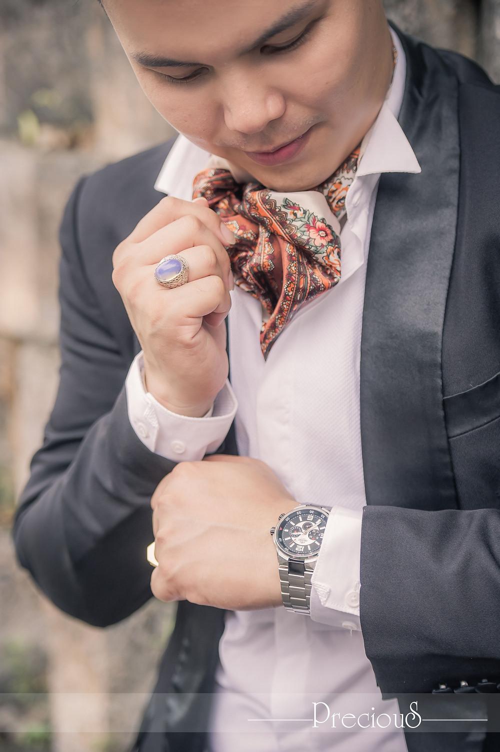 PRECIOUS WEDDING | Groom Fashion Style