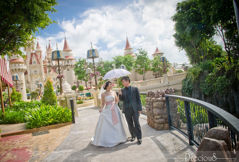 Precious Wedding | Pre-Wedding Singapore Universal Studio