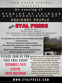 Author Visit: Eyal Press