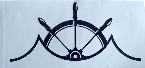 3''x 6'' Waterproof MOTB Decal (Navy)